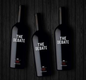 The Debate 3-Pack Collector Set Cabernet Franc 2016 - 750ml