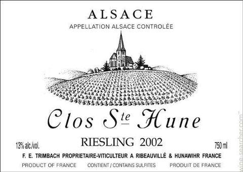 Trimbach Riesling Clos Ste. Hune 2014 - 750ml