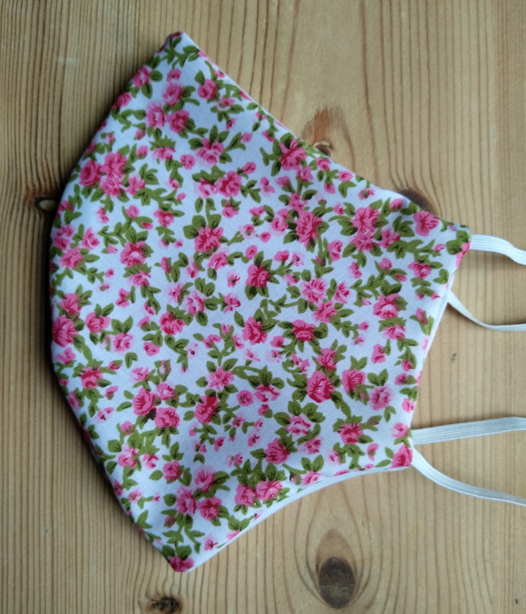 Ladies Triple Layered Floral Mask