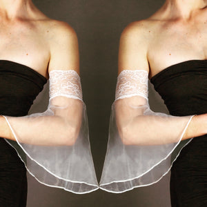 Lace Top Tulle Bands - sleevzies