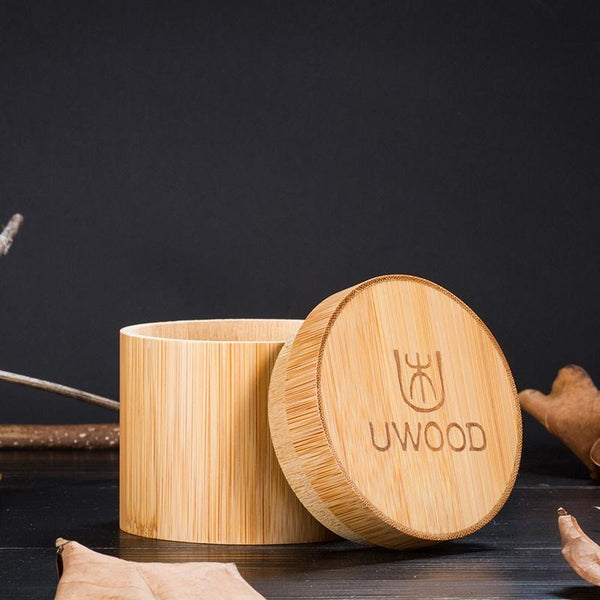 Luxury bamboo wooden watch gift box