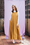 Luca Dress in Mustard
