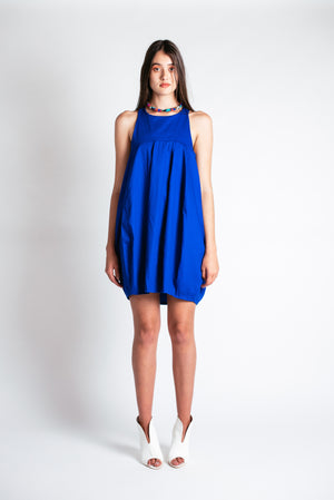 Noctiluca Day Dress in Blue