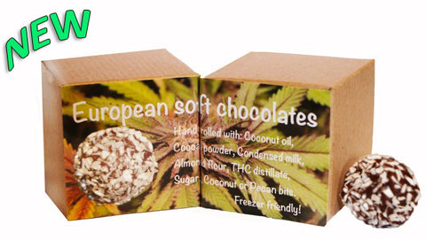 European soft chocolates 20 mg (Package of 5)