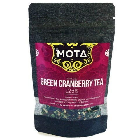 Cranberry Cannabis Tea