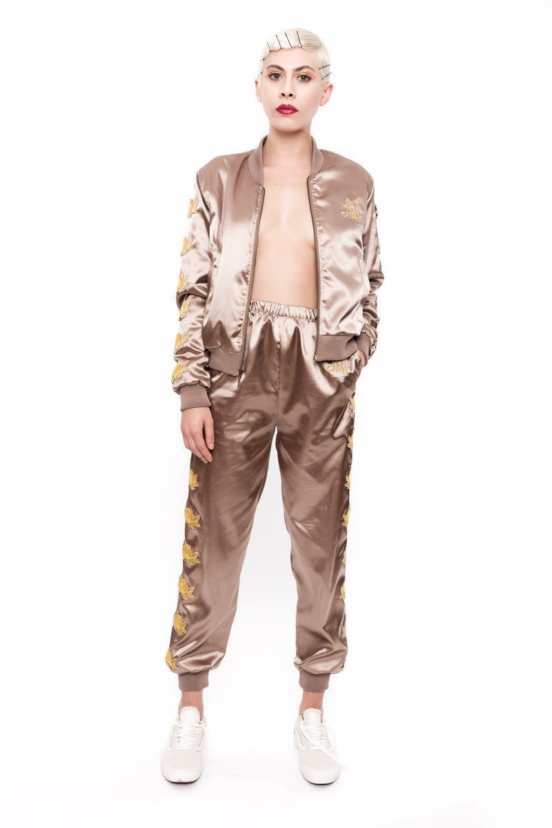 Limited Edition Gold Devil Bomber Tracksuit