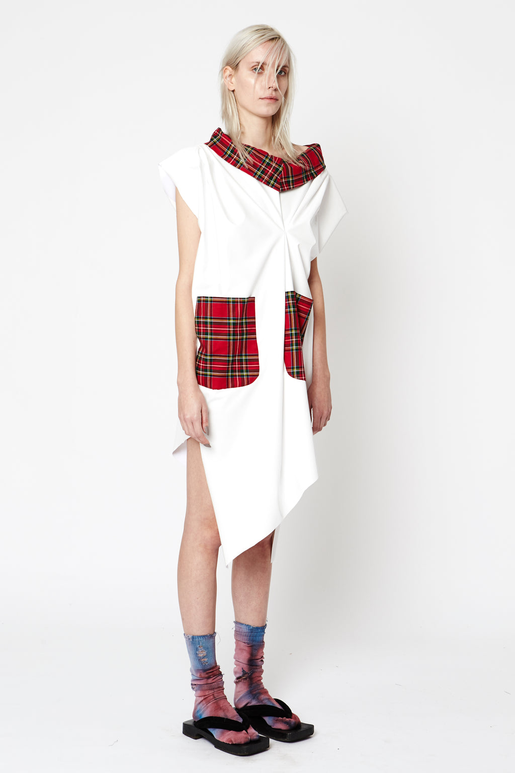 Vinyl Tartan Dress - Unisex