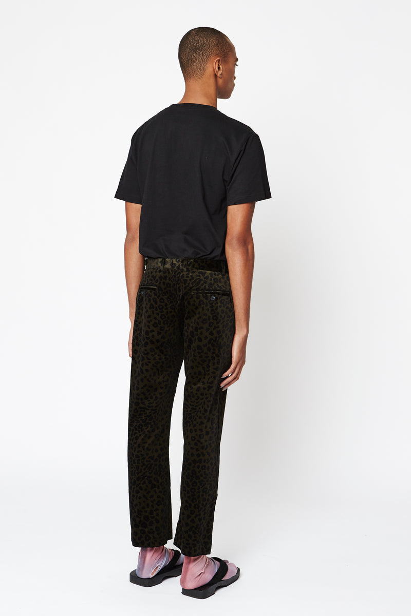 Black Leopard Men's Pant