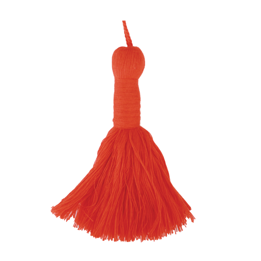 Jockey Red Tassel