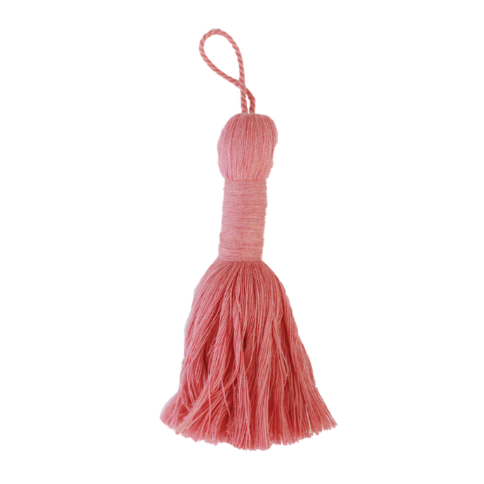 Morganite Rose Tassel