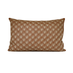 Scallop Leather Cushion