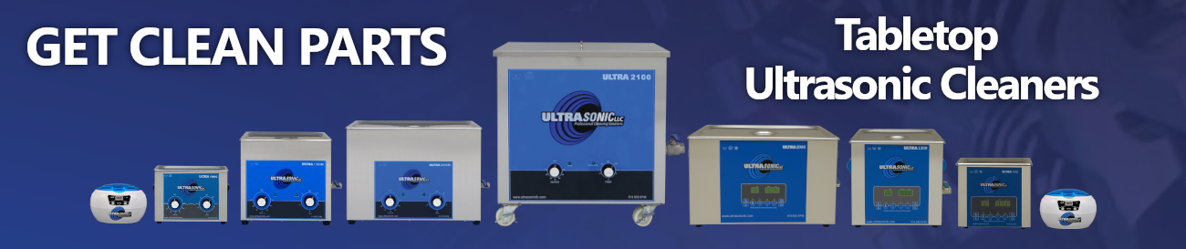 UltraSonic LLC Tabletop Ultrasonic Cleaning Machines
