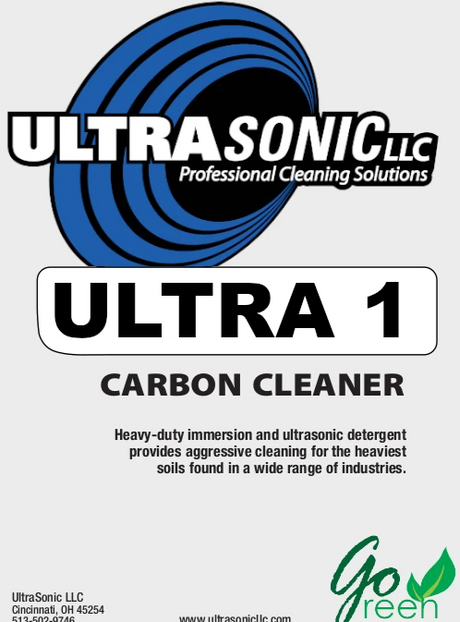 Ultra 1 Heavy Duty Ultrasonic Detergent
