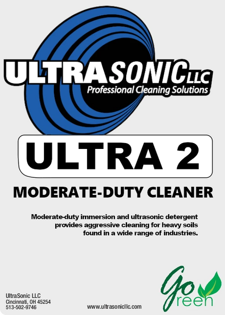 Ultra 2 Moderate Duty Ultrasonic Detergent