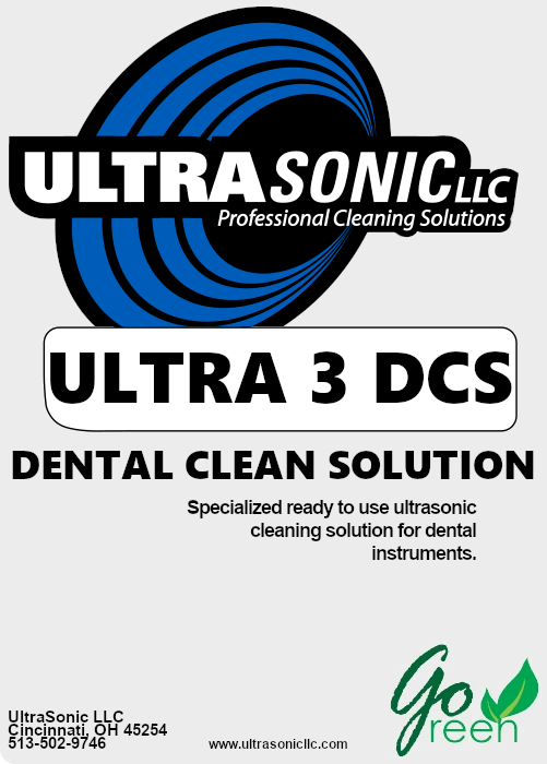 Ultra 3 Dental Clean Solution