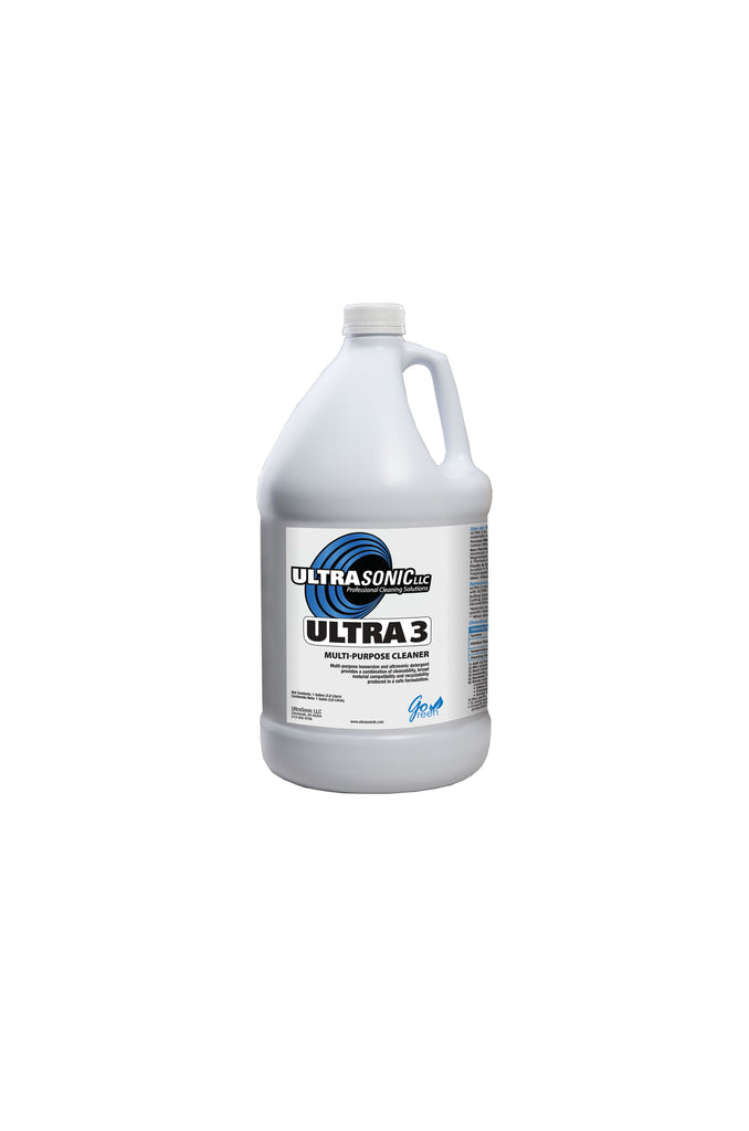 Ultra 3 Multi-Purpose Ultrasonic Detergent - 1 Gallon