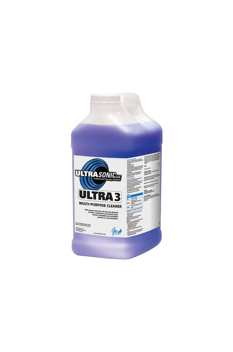 Ultra 3 Multi-Purpose Ultrasonic Detergent - 2.5 Gallons