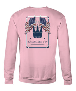 Live Life 3 In Sweatshirts