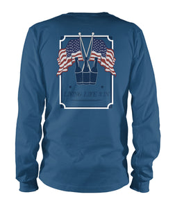 LiveLive3In 'Merica Long Sleeve
