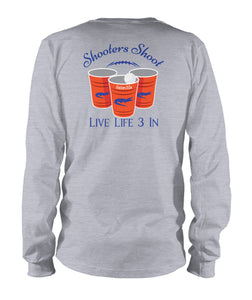 Gators3In Shooters Shoot Long Sleeve