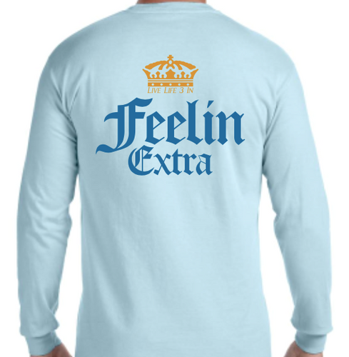 Corona Long Sleeve Pocket Tee