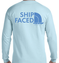 Ship Faced Colors Long Sleeve Pocket Tee
