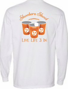 Vols3In Shooters Shoot Long Sleeve Pocket Tee