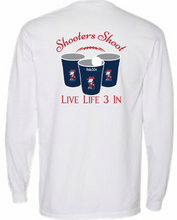 Rebs3In Shooters Shoot Long Sleeve Pocket Tee
