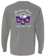 Tigers3In Shooters Shoot Long Sleeve Pocket Tee