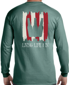 'Merica 2.0 Long Sleeve Pocket Tee
