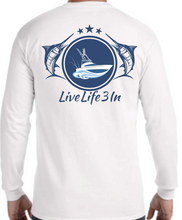 Hooked Long Sleeve Pocket Tee