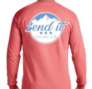 Send It Long Sleeve Pocket Tee