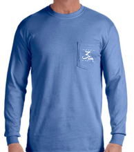 Shotgun Saturdays Long Sleeve Pocket Tee