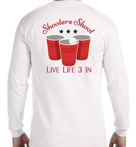 Shooters Shoot Long Sleeve Pocket Tee