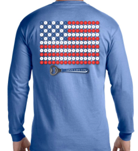 1776 Edition Long Sleeve Pocket Tee