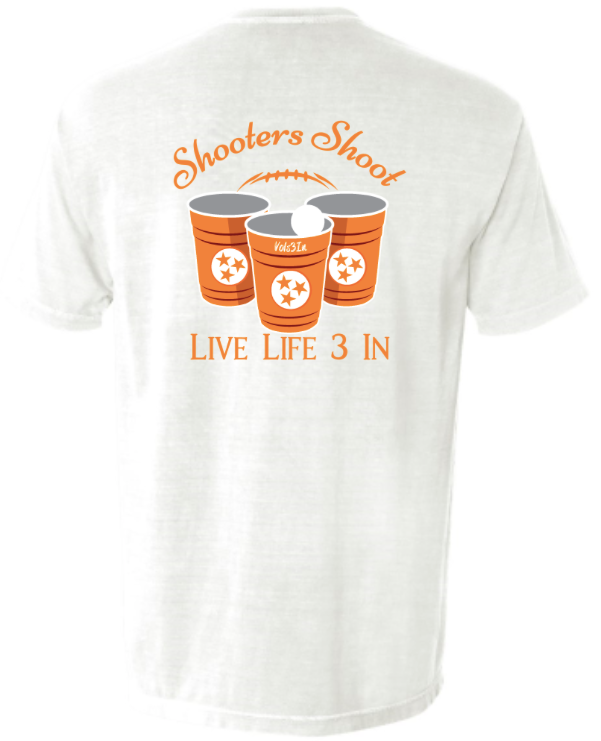 Vols3In Shooters Shoot Pocket Tee