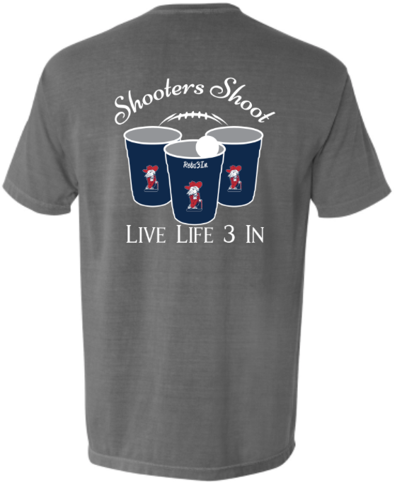 Rebs3In Shooters Shoot Pocket Tee