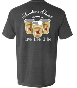 Noles3In Shooters Shoot Pocket Tee