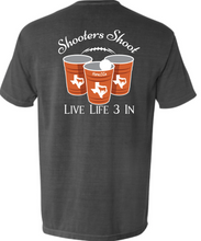 Horns3In Shooters Shoot Pocket Tee