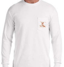 Horns3In Long Sleeve Pocket Tees