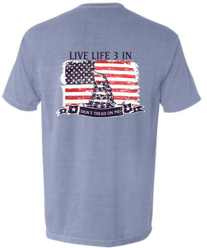 Don't Tread on Me Pocket Tee