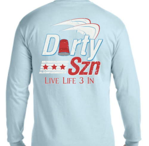 Darty Szn Long Sleeve Pocket Tee