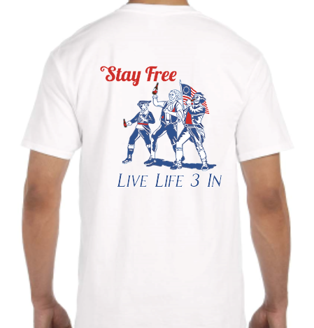 Stay Free Pocket Tee
