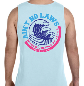 White Claw Tank Top