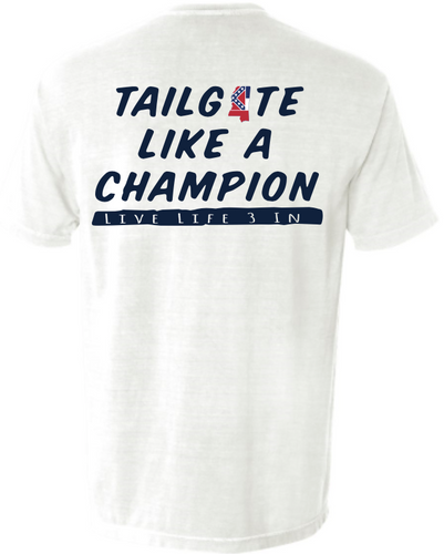 Rebs Tailgate Champion Short Sleeve