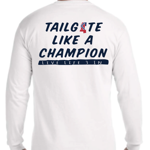 Rebels Tailgate Champion Long Sleeve