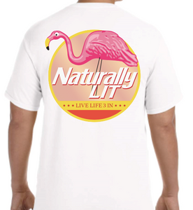 Naturally Lit Short Sleeve Pocket Tee