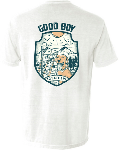 Good Boy Pocket Tee