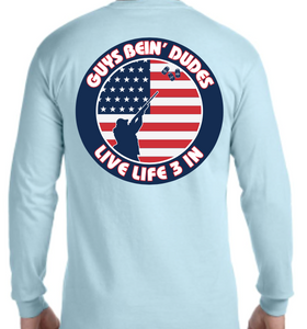 Guys Bein' Dudes Long Sleeve