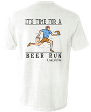 Beer Run Short Sleeve Pocket Tee